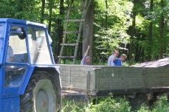 2011 Myslivci stěhování chaty