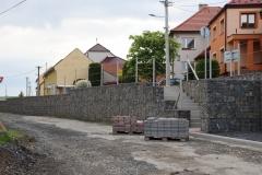 Průtah obcí a chodníky