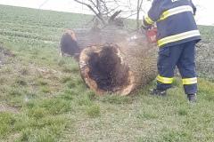 Zásah hasičů dne 3.4.2020
