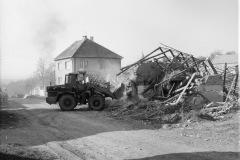 1987 Bourání domu p. Vašíčka