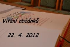 2012 Vítání občánků